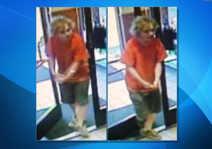 "The sexual assault suspect is described as a White male with blonde hair, about 18-20 years old, 5'8"" tall, and weighing around 150 pounds, detectives said. The suspect walks with a noticeable limp and he may be a transient. (Images courtesy LASD)"