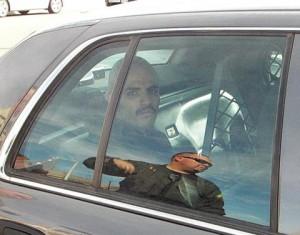 Michael Debinion, who is on felony probation, was arrested. (LUIS MEZA)