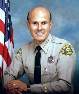 Lee Baca retired from the Los Angeles County Sheriff's Department in 2014 at the height of the federal probe. He had been sheriff since December 1998.