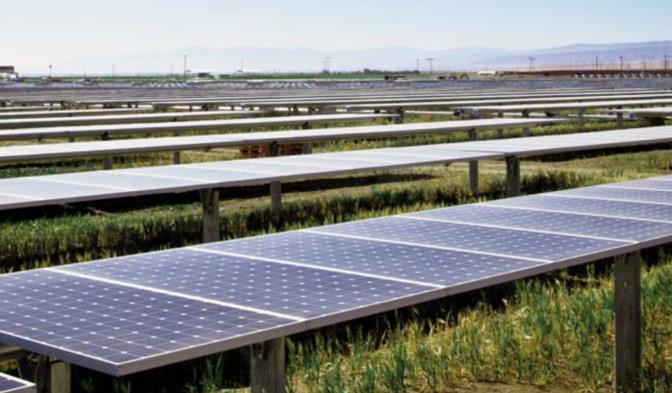When complete, the 579-megawatt Solar Star projects (formerly the Antelope Valley Solar Projects) are expected to have more than 1.7 million panels installed, covering 3,230 acres. The projects are situated on privately-owned, previously-disturbed land near Rosamond.