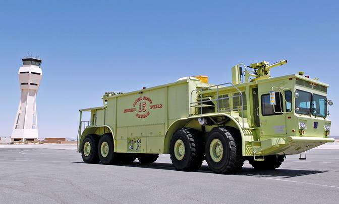 The Edwards Fire Department will now compete at the Department of Defense level for consideration to win the 2013 DOD Fire and Emergency Services Award. (U.S. Air Force photo by Jet Fabara)