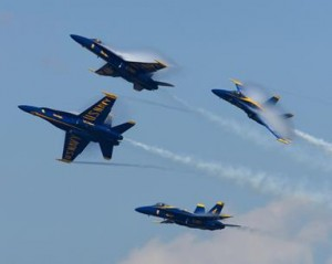 The Blue Angels will perform in the first air show of their 2014 season, after being grounded for nearly a year due to budget cuts.