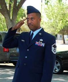 Ervin served 10.5 years active duty and is currently on his 6.5 year as a Master Sergeant in the Air Force Reserves.