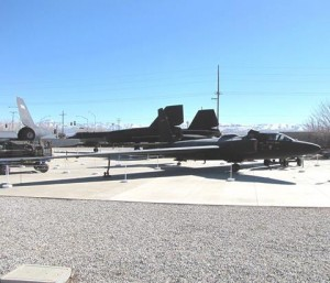 Blackbird Airpark is the only place in the world where an A-12, an SR-71, a U-2, and a D-21 drone are displayed next to each other.