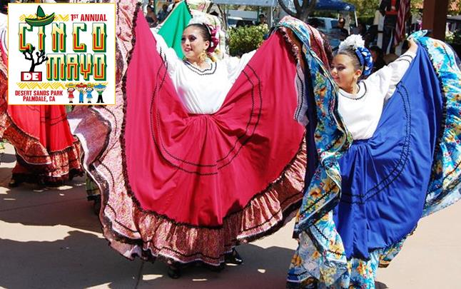 Grupo Folklorico Antelope Valley will be among the many performers at the inaugural Cinco de Mayo festival in Palmdale, Sunday, May 4.