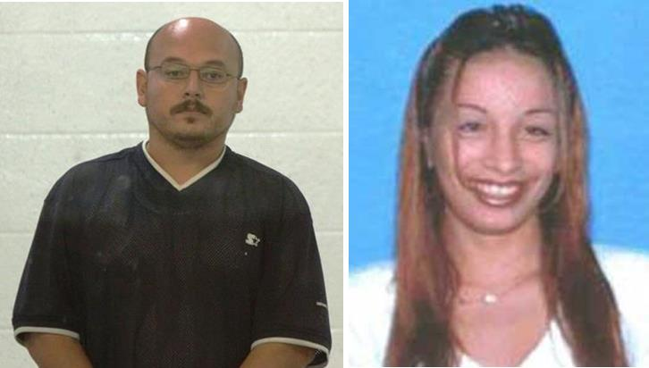 Jesus Canales (shown at his arraignment in 2013) and victim Lucy Preciado.
