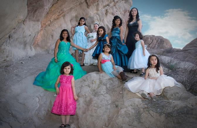 Picture from left to right: Kaiya Fritsch, Gianna Garcia, Alyssa Rivera, Giselle Mejia, Camila Rubio, Yanely Guillen, Kennedi Huth, Isabella Mancera, Liliana Cooper, Victoria Gleason. (Not pictured: Loraina Calderon)