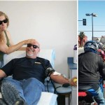 Dozens of local bikers came out last year for the  annual Motorcycle Awareness Blood Drive. This year's event takes place May 3. (Contributed photos)