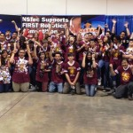 The Palmdale Aerospace Academy Gryffingear Robotics is made up of 36 students, six mentors and two advisors.