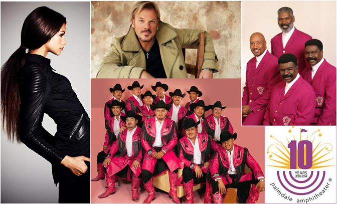 Actress, singer and dancer Zendaya; country star Phil Vassar; R&B legends The Whispers; and Banda Machos are coming to the Palmdale Amphitheater this summer.