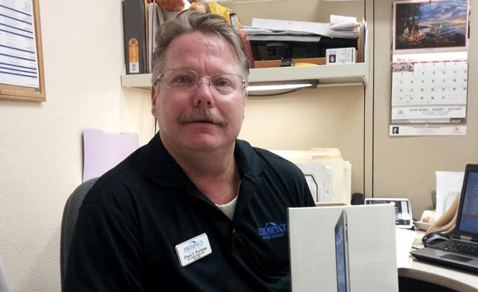 Paul Porteus was known and loved throughout the local business community.