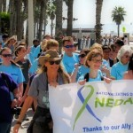 Photo taken from the annual NEDA Walk in Los Angeles. The first Lancaster NEDA Walks takes place April 19.
