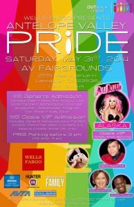 AV Pride flyer