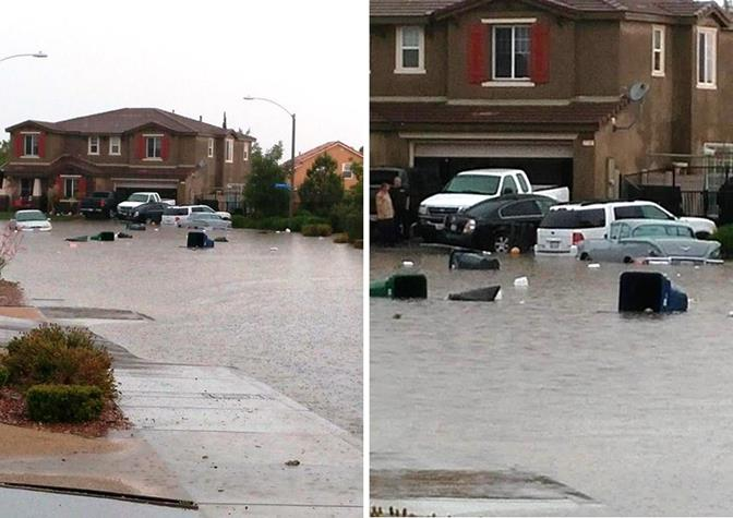 Flooding Palmdale 5.22.14