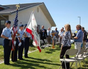 The group announced the golf tournament fundraiser at a ceremony at the Veterans Home Friday, which included the Color Guard from the Civil Air Patrol at Joe Walker Middle School.