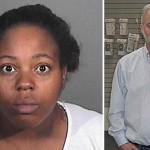 Jinea Ingram (left) pleaded no contest to voluntary manslaughter in connection with a March 2012 robbery at e-Chap Computers and More in Lancaster that ended in the shooting death of store owner Reed Keith (right).