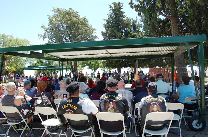 More than 200 people attended Memorial Day Services at Desert Lawn Memorial Park in Palmdale.