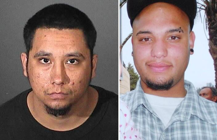 Nicholas Harper, now 26, is charged with one count of murder in the Feb. 2012 shooting death of 21-year-old James McElroy (right).