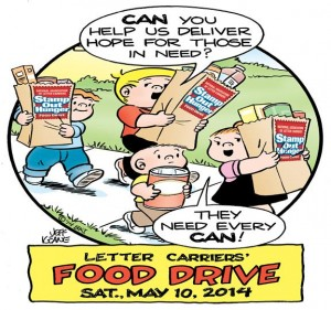 Stamp Out Hunger Food Drive 5.8.14