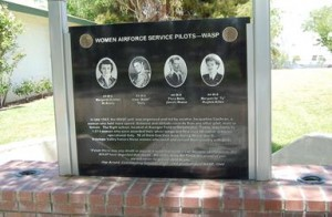 Also stolen were two bronze vases from the Women Air Force Service Pilots monument .