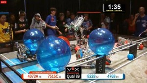 The VEX Robotics World Championship is held every year in Anaheim. Teams from around the world compete in more than 400 local events to qualify for the World Championship.