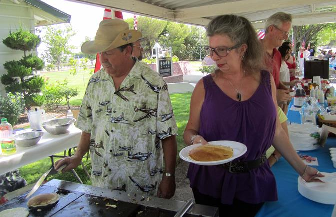 Pancakes will be served from 8 to 10 a.m. with the festivities ending at 11 a.m. (Contributed photo)