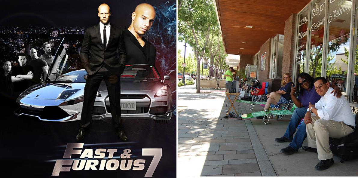 Early Friday afternoon, hopefuls were already lined up outside The Main Event Banquet Hall on The BLVD to get an early start on the Fast & Furious open casting call Saturday, June 21.