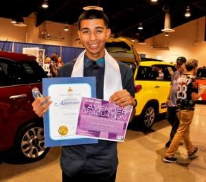 Daniel Alvarez of Littlerock High School.