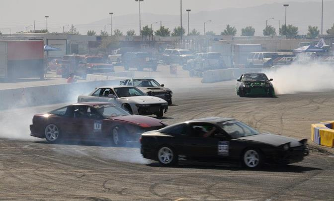 Thunder on the Lot will feature burnout competitions, drifting races and motorcycle stunt riders.