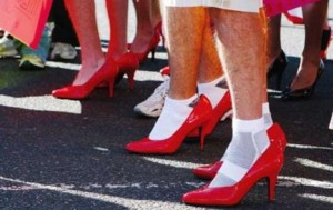 Walk Mile in Shoes