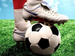 AV Soccer Expo stock image