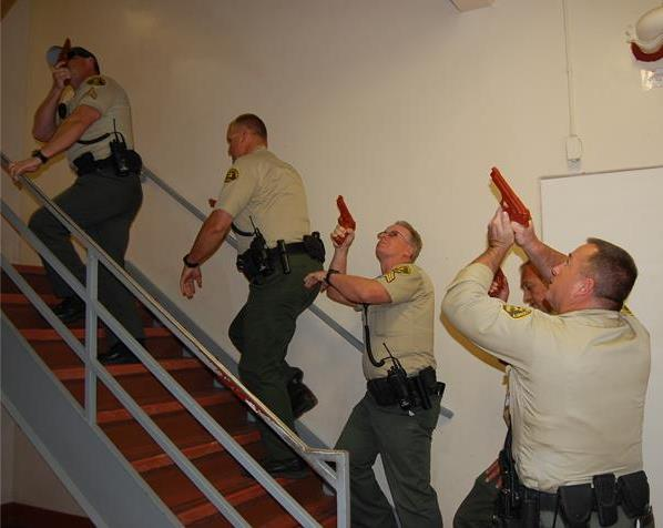In May of 2013, about 80 deputies from Lancaster and Palmdale Sheriff's Stations joined local fire fighters and other emergency responders for the first-ever active shooter drill at Antelope Valley Hospital.