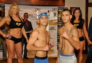 In the Main Event, scheduled for six rounds, Eric Ruiz will take on Jonathan Alcantara in the Super Bantamweight division.