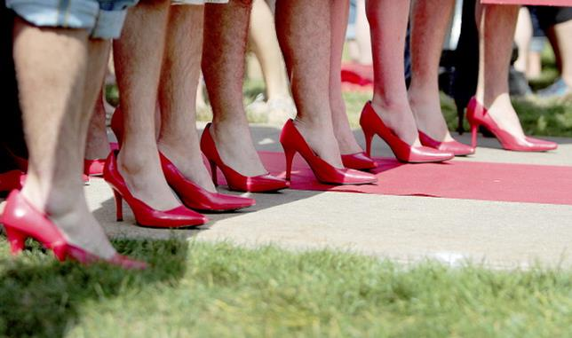 """Presented by the Antelope Valley Chapter of Zonta International, the Walk a Mile event will feature men walking a mile in high-heeled shoes around the track at The Hangar – a live demonstration of the old saying """"You can't really understand another person's experience until you've walked a mile in their shoes."""""""