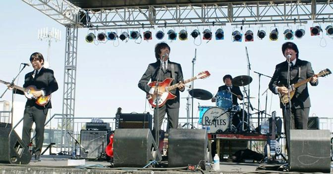 Capping off the weekend's festivities will be a free concert by the L.A. Cast of Beatlemania on Saturday, Sept. 13, at 8 pm.