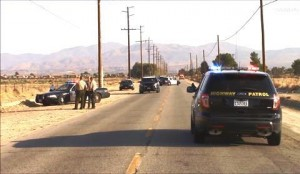 The fatal rollover collision happened around 5:30 p.m., Thursday, August 7. (LUIS MEZA)