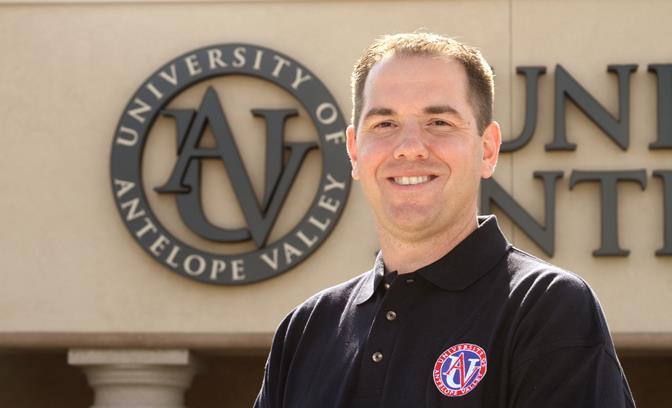 Jeff Bussell (Photo courtesy UAV)