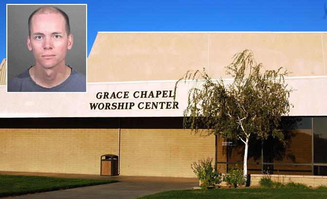 The acts of molestation allegedly occurred during the past year while the children were at Grace Chapel for Sunday Church Services. Grace Chapel Church is located on the campus of Desert Christian School in the 44600 Block of 15th Street West in Lancaster.