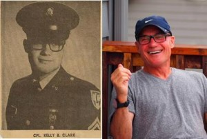 Kelly Clark then and now. (Contributed)