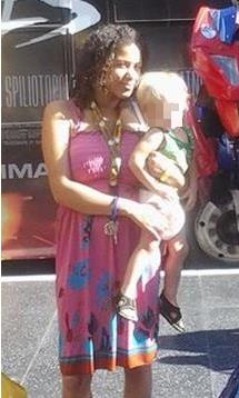 Rosie Lee Wilson and her toddler. The 22-month-old boy is currently on life support in critical condition. (Contributed photo)