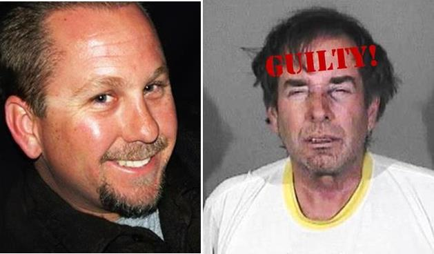 Scott Shipley (right) was found guilty on April 25 of second-degree murder; the jury also found true an allegation that Shipley intentionally discharged his firearm when he shot Christopher Demyen (left)  to death last year.