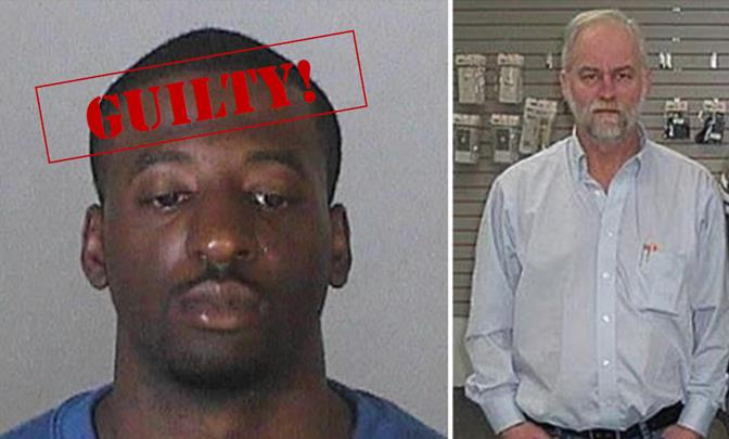 Timothy Johnson (left) was found guilty in connection with a March 23, 2012 robbery that ended in the shooting death of 59-year-old Reed Keith (right).