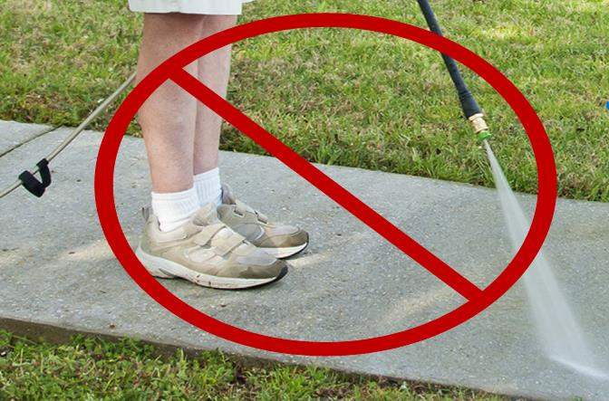Using a hose to wash down any sidewalks, walkways, driveways, parking areas or other paved surfaces is a willful violation and shall be punishable by fine of $100 per incident, according to the mandatory water restrictions effective August 14, 2014.