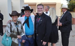 Guests are encouraged to wear black-tie or dressy Western attire. (Contributed)
