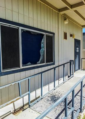 The district is also looking to the local community to assist in stopping the vandalism by utilizing an anonymous service .