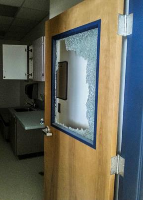 A reward of up to $1,000 is offered for information leading to the arrest and conviction of people responsible for the vandalism. Call WeTip at 1-800-78-CRIME (27463) if you have any information.