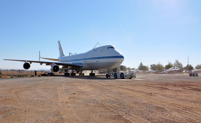 NASA 911 final journey Palmdale 1