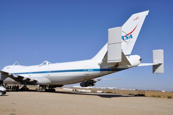 The retired early-model 747, distinguished by the two large vertical fins attached to the ends of its horizontal tail, reached its final destination shortly after 10 a.m. on Friday, Sept. 12.