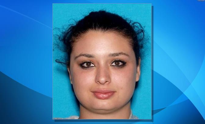 Nicollette Lucia is a 25-year-old white female with brown hair and hazel eyes who stands about 5 feet 3 inches tall and weighs around 135 lbs. She has significant upper and lower crooked teeth. (Image courtesy LASD)