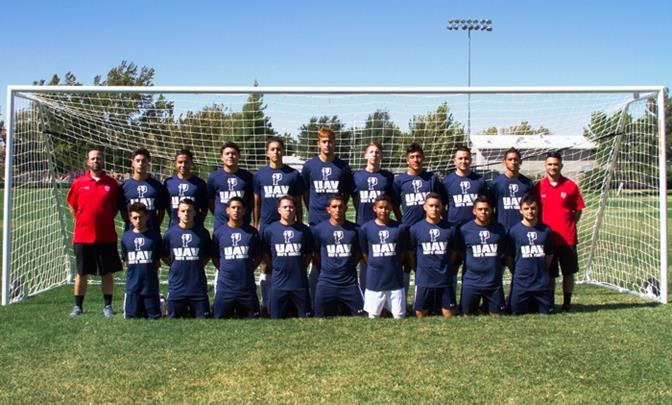 The new UAV men's soccer team is made up mostly of freshmen, who will all have the opportunity to get collegiate level playing time, according to Head Coach Jarrod Cline. (Contributed photo)
